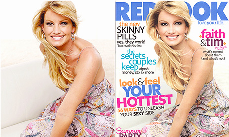 Redbook-Cover Faith Hill